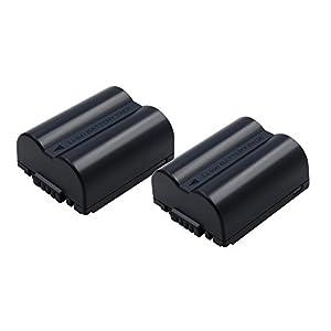Bonacell 2 Pack CGA-S006E/DMW-BMA7 Battery 1500mAh for Panasonic Lumix DMC-FZ7, DMC-FZ8, DMC-FZ18, DMC-FZ28, DMC-FZ30, DMC-FZ35, DMC-FZ38, DMC-FZ50 Digital Camera