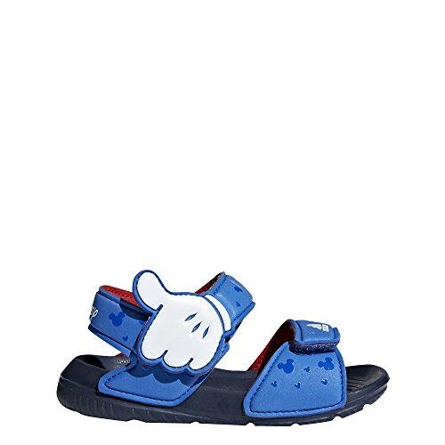 Kempa Wing Junior, Zapatillas de Balonmano Unisex Niño, Blanco (Blanco/Azul Fair/Azul Mar 000), 30 EU