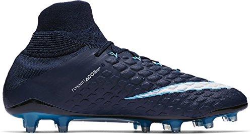 blanc Nike Nike Phantom Hypervenom Hypervenom Bleu q4BXOw5