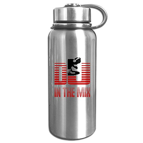 Stainless Steel Vacuum Leak Proof Water Bottle Dj Mix For Sport And (Mix Icy Colors)