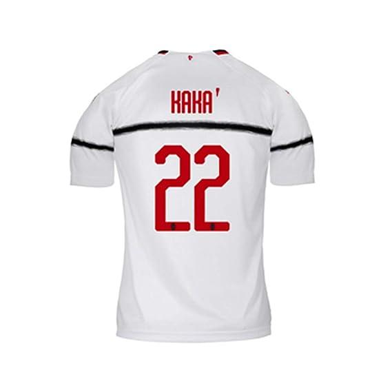COOLBOY Camiseta de fútbol para Hombres, Kaka 22#, 18-19-20 AC ...