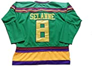 Mighty Ducks Movie Hockey Jersey Adults Clothing for Party, Stitched Letters and Numbers