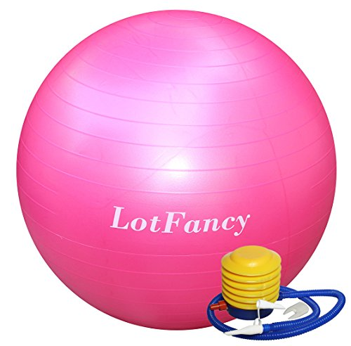 Exercise Stability Ball Foot LotFancy