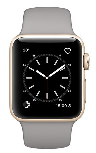 b599686a7 Amazon.com  Apple Watch Series 2 38mm Smartwatch (Gold Aluminum Case ...