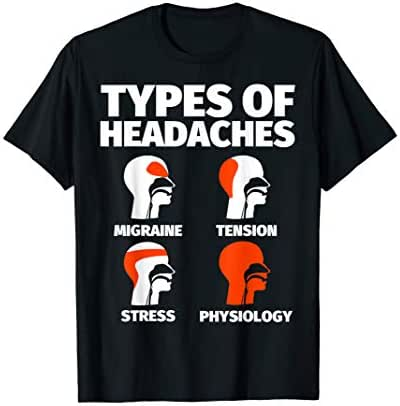 Physiology Funny Sayings Headache Meme T-Shirt