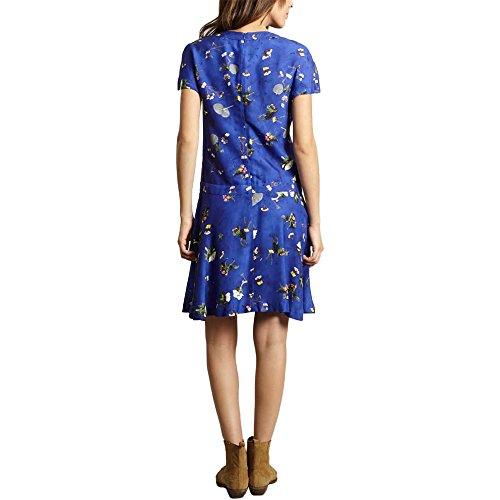 54139 Floreale Blu Primavera Blu Giorno Donne Cacharel Collezione Vestito Estate E5zqSS4
