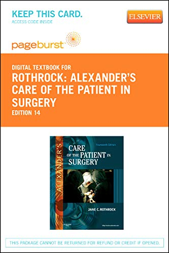 Alexander's Care of the Patient in Surgery Access Code