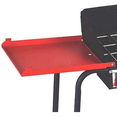 Folding Side Shelves For 3 Burner Stove, Includes 2 Stove Shelves, (Two Side Burners)