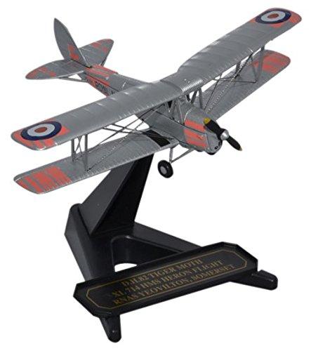Herpa 8172TM008DH Tiger Moth XL 714-Aeroplane-Royal Navy HMS Heron Flight Grey