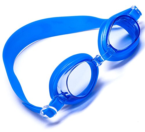 Aguaphile Kids Swim Goggles - Soft and Comfortable, Anti-Fog UV Protection - Best Swimming Goggles for Kids with Case - Compare to Speedo, Aqua Sphere, or TYR - Kid Safe, - Goggles Compare Swimming
