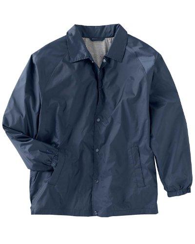 Harriton Men's Nylon Staff Jacket