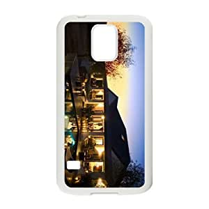 The Beautiful Vacational Village Hight Quality Case for Samsung Galaxy S5