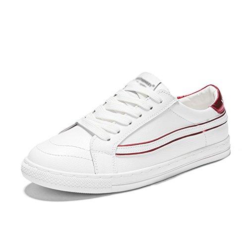 de para Red HWF para Red primavera de de 35 soltero para Zapatillas blancas mujer mujer deporte Tamaño White Zapatillas Zapatos casual Color White mujer rq0wHrgz