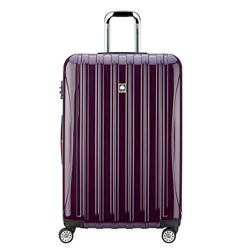 Delsey Luggage Helium Aero 29 inch Expandable Spinner Trolley, Plum by DELSEY Paris