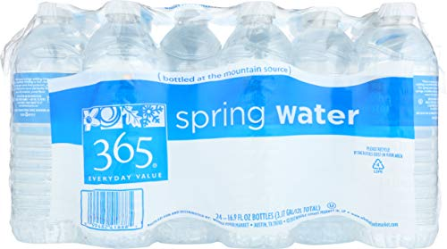 365 Everyday Value, Water Spring, 24 Pack, 16.9 Fl Oz