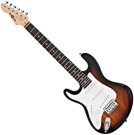 Guitarra Electrica 3/4 para Zurdos LA de Gear4music Sunburst: Amazon.es: Instrumentos musicales