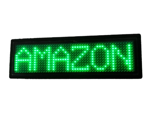 Programmable Scrolling MSD LED Name Badge (12x48 pixels) ...