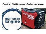 BMotorParts Carburetor Carb Assy. for Predator 3500 Watts Inverter Generator 63584