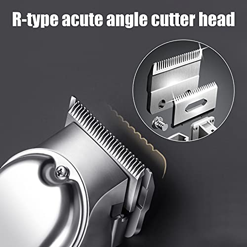 Skyteelor Hair Clippers for Men Women & Children Professional Cordless Clippers for Haircutting Beard Trimmer Barbers Grooming Kit Rechargeable-LED Display-Model C99