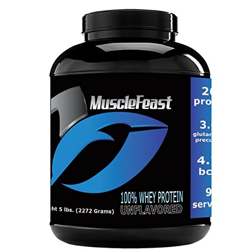 100% Whey Unflavored - 5lbs