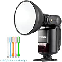 Godox Witstro AD360II-N Speedlite Flash Light 360W/s GN80 Portable TTL 2.4G Wireless External Flash LCD Panel for Nikon Digital Camera + HuiHuang USB LED free gift