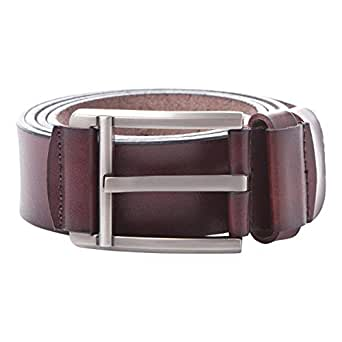 Venus Accessories Brown Leather Belt For Men