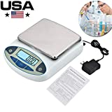 KOOKYOU Lab Analytical Balance Scale Digital Weight Electronic Gram Balance Scale 0.01/500g Scale Laboratory Balance Digital Kitchen Balance Scale Jewelry Gold Scale Precision Balance