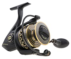 Arm yourself for the most punishing saltwater battles with the Penn Battle II Spinning Fishing Reel. Crafted from durable materials and packed with fish-fighting features, this saltwater reel is engineered to catch fish year after year. From ...