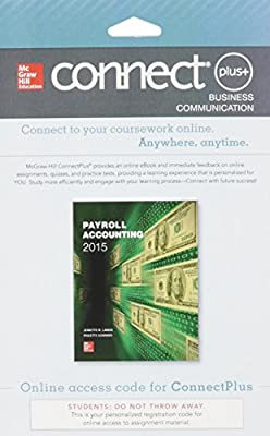 Connect 1-Semester Access Card for Payroll Accounting 2015