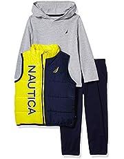 Nautica Baby Boys 3 Pieces Vest Pants Set