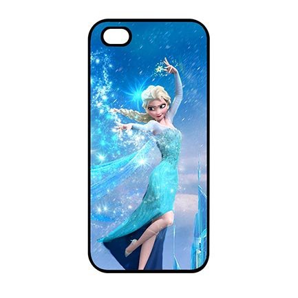 Awesome Frozen Cartoon Theme Hard Case for iPod Touch 5th Generation (Frozen Ipod Cases 5th Generation)