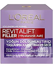 L'Oréal Paris Revitalift Filler Yoğun Dolgunlaştırıcı Yaşlanma Karşıtı Gece Kremi 50 ml - Hyaluronik Asit
