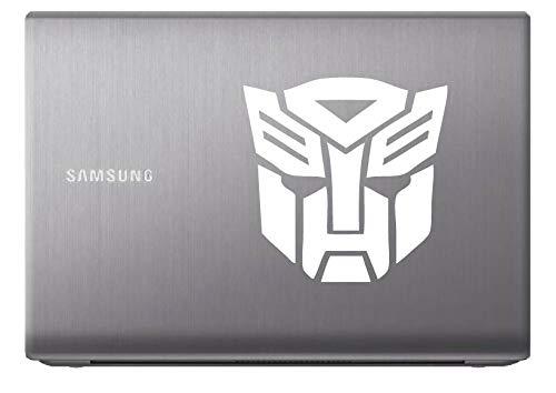 Autobot Laptop - Autobot Transformer (White 8