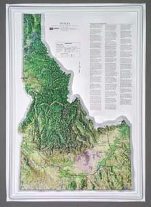 American Educational Products K-Id1826 Idaho Ncr Series Map ()