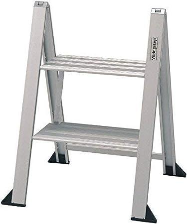 Escalerilla plegable vikingstep Mini escalera 2 ESCALONES max. 150kg Escalera plegable 559145: Amazon.es: Bricolaje y herramientas