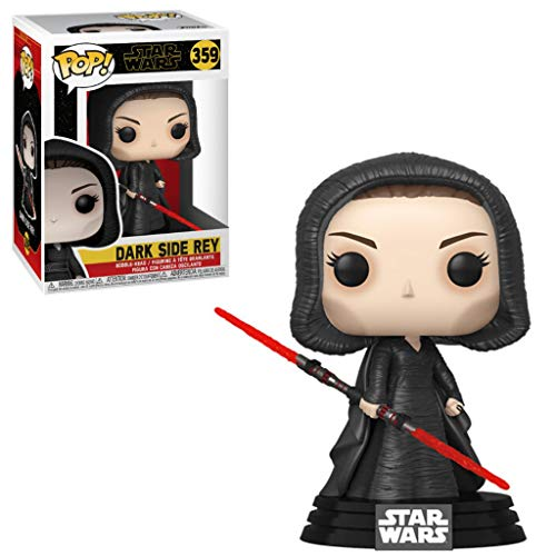 Funko Pop! Star Wars: Rise of The Skywalker - Dark Rey, Multicolor, 3.75 inches (47989)