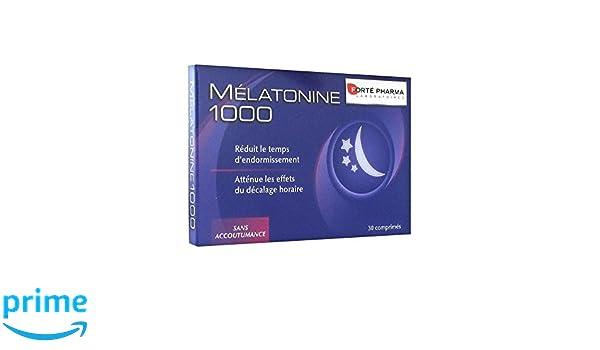 Forté Pharma Mélatonine 1000 30 comprimés: Amazon.es: Salud y ...