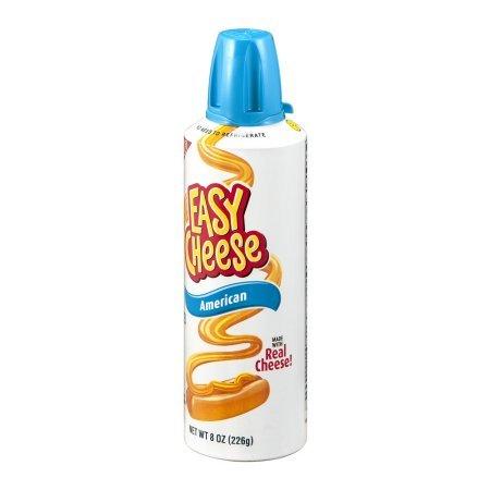 PACK OF 8 - Kraft Easy Cheese American Cheese Snack, 8 oz