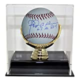 Rod Carew Autographed Signed Official Major League Baseball 67 AL ROY & JSA With Deluxe Baseball Display Case