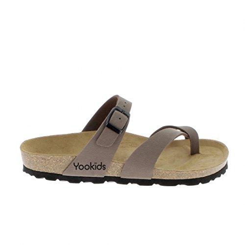 YOOKIDS - Tongs / Sandales - Bear - Marron