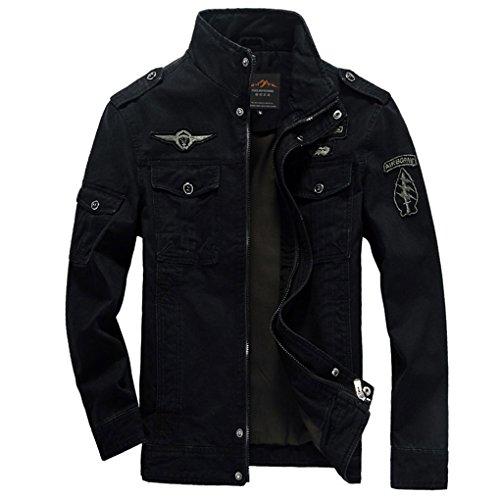 A POCKET OF SUNSHINE Men Cotton Jean Military Jackets Plus Size 5XL 6XL New  Coat Male 16b04f91514