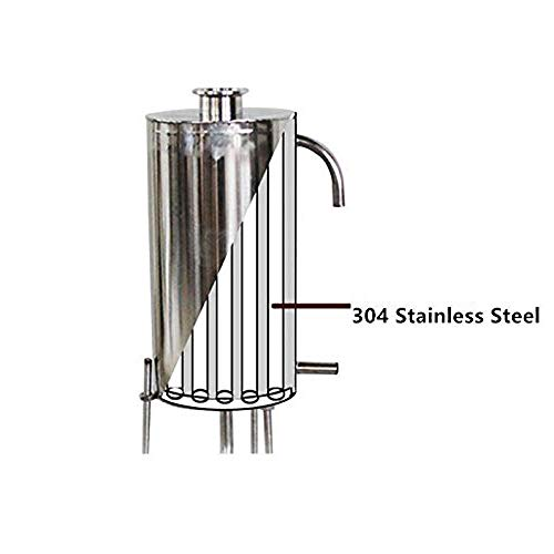 12/22/36/50/70L 3/5/9/13/18 Gal Home Distiller Moonshine Still Alcohol Whisky Water Alcohol Boiler Stainless Steel Brew Kit Wiine Making by WMN_TRULYSTEP (Image #3)