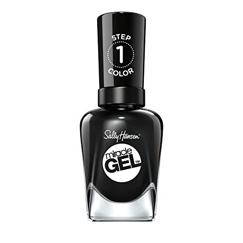 - Sally Hansen Miracle Gel Blacky O 460, Pack of 1
