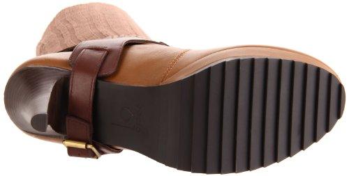 Bacio61 Kvinna Rivo Boot Boot Brun