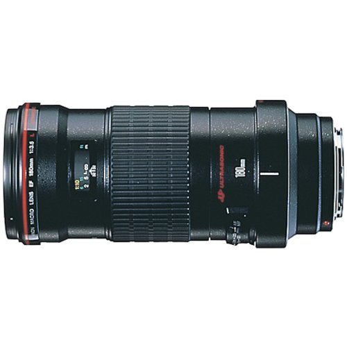 Canon EF 180mm f3.5L Macro USM AutoFocus Telephoto Lens for Canon SLR Cameras by Canon