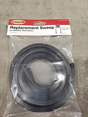 Larson 37 1 4 In Black Storm Door Double Sweep Amazon Com