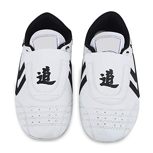 (Martial Arts Shoes Taekwondo Shoes,Kids Teenager Martial Arts Training Shoes Sport Boxing Karate Shoes for Taekwondo, Boxing, Kung Fu, Taichi)