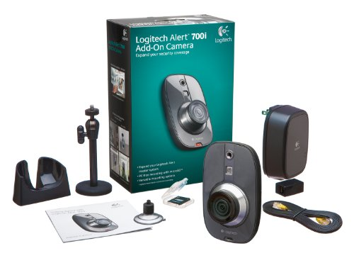 Logitech Alert 700i Indoor Add-on - HD-quality Security Camera