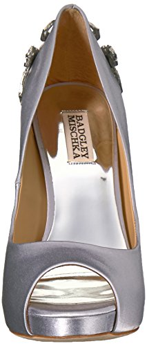 Women's Mischka Badgley Pump Karolina Silver TH5Owq
