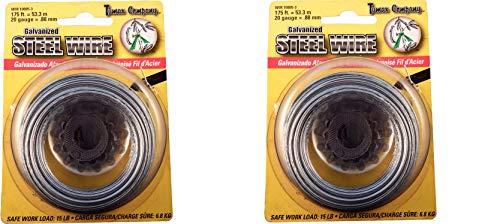 Tumax 20-Gauge Galvanized Steel Wire 175 Feet for